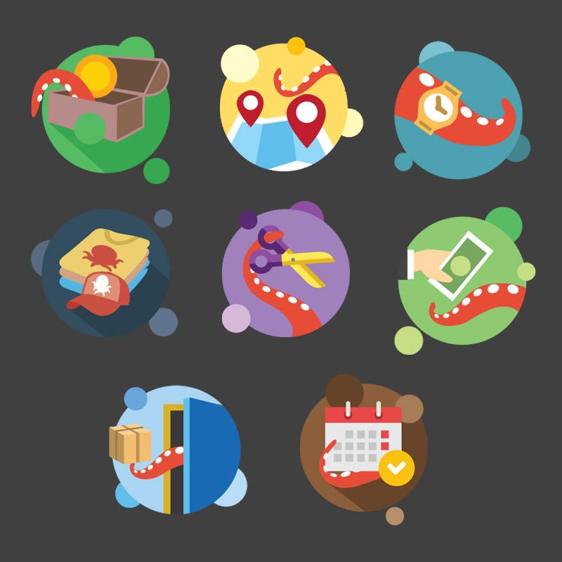 Paquete de Iconos Web
