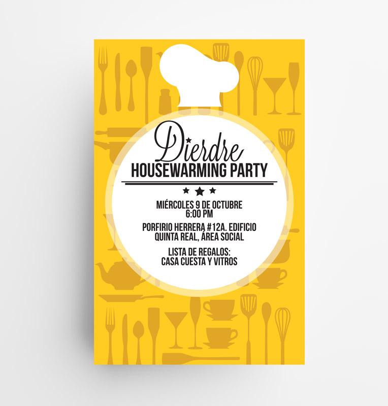 Invitación Housewarming